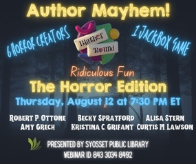 Author Mayhem!